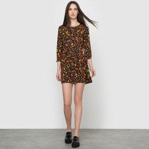Printed 3/4 Sleeve Dress COMPANIA FANTASTICA