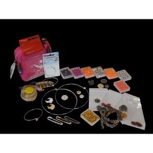 Sacoche création bijoux, 860 pendentifs, perles et fermoirs - Perles Box PERLES BOX