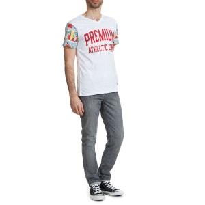 Tee Shirt Mc Bd Preums M American College Blanc AMERICAN COLLEGE