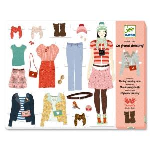 Kit créatif Au bonheur des filles : Oh! la mode : Le grand dressing DJECO