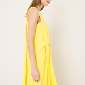 Unifarbenes Kleid, asymmetrisch geschnitten CEDRIC CHARLIER