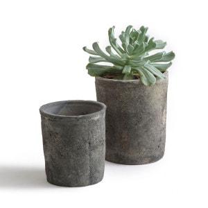 Cache-pots en terre cuite, Terro (lot de 2) La Redoute Interieurs
