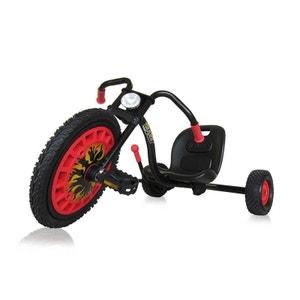Hauck T-92002 Hauck - Trike Typhoon - Tricycle rouge et noir HAUCK