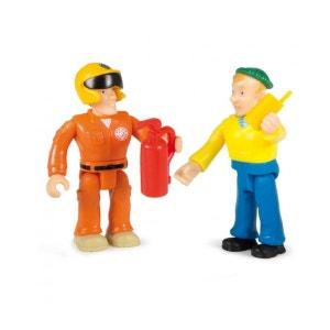 Figurine Sam le Pompier : Sam et Charlie SMOBY