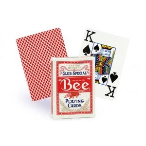 Cartes Bee poker jumbo (rouge) BICYCLE
