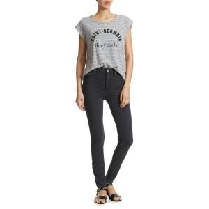 Tee Shirt Mkt Studio Truman Gris Raye Ecru Femme MKT STUDIO