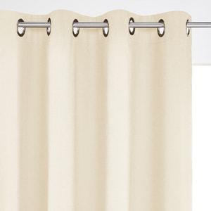 Lichtundurchlässiger Vorhang, reine Baumwolle, Ösen SCENARIO