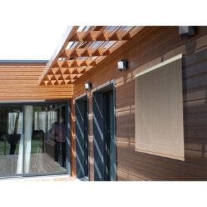 Store d'ombrage 80 x H 180 cm Sable - 165g/m² JARDIDECO