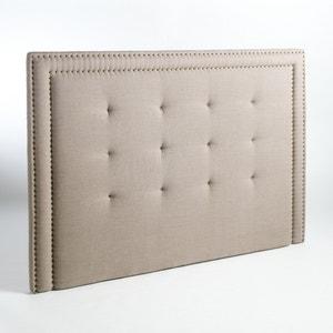 Cabecero de cama capitonado 100% lino Al. 135 cm Hampstead AM.PM.