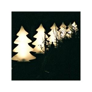 Arbre lumineux blanc éclatant 82 cm intérieur et extérieur FLEUR D'AMI