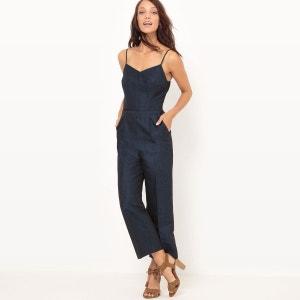 Combi pantalon, coton lin La Redoute Collections