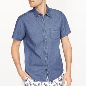 Chemise coupe droite en jean R essentiel