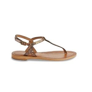 Les sandales plates Billy, cuir LES TROPEZIENNES PAR M.BELARBI