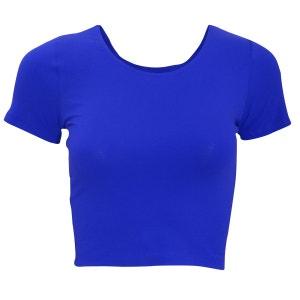 T-Shirt Raccourci À Manches Courtes - Femme AMERICAN APPAREL