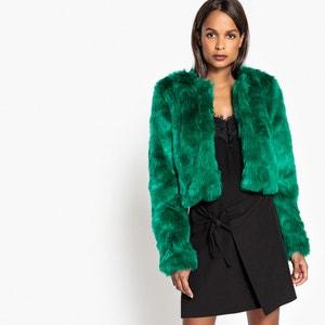 Faux Fur Jacket MADEMOISELLE R
