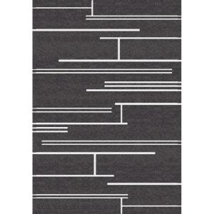 Tapis de salon Noir et Blanc Oeko-tex ART FOR KIDS
