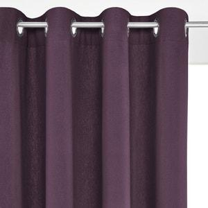 Taïma Linen/Cotton Eyelet Single Curtain La Redoute Interieurs