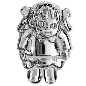 Charm Fille Enfant Argent 925 - Compatible Pandora, Trollbeads, Chamilia, Biagi SO CHIC BIJOUX