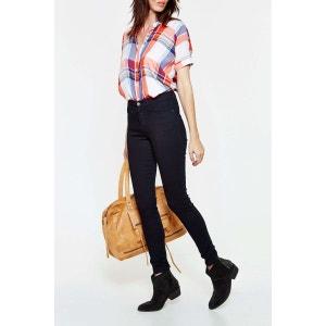 Jeans Wrangler Skinny High Rise Bleu Brut Femme WRANGLER