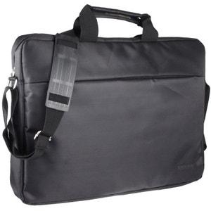 Sacoche PC portable Ordinateur 17 pouces protection Noir Yonis