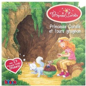 Livre Princesse Coralie et l'ours grognon KLEIN