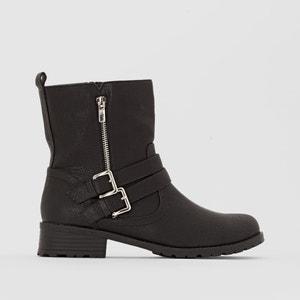 Wide Fit Biker Boots, Sizes 38-45 CASTALUNA