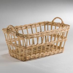 Ozié Rattan Laundry Basket La Redoute Interieurs