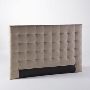 Cabecero de cama de capitoné Selve, Al. 120 cm