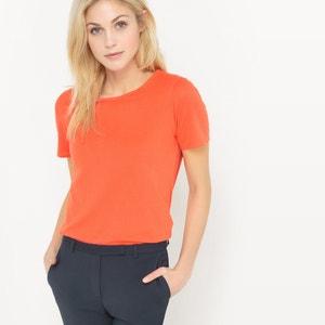 T-shirt col rond, coton BIO R essentiel