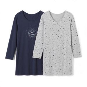 Chemises de nuit imprimées (lot de 2) La Redoute Collections