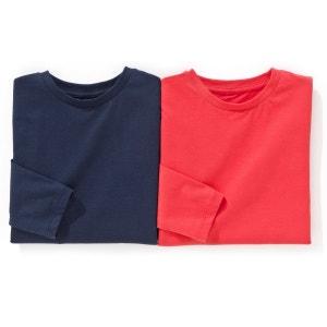 T-shirt manches longues 3-12 ans (lot de 2) R édition