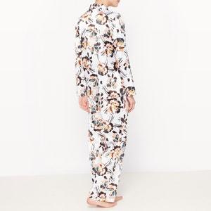 Pijama estilo masculino estampado La Redoute Collections