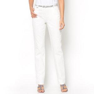 Jeans em sarjado stretch, entrepernas. 78 cm ANNE WEYBURN