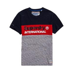 T-shirt met ronde hals en korte mowuen Trophy Micro