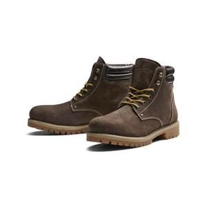 JFWSTOKE Leather Boots JACK & JONES
