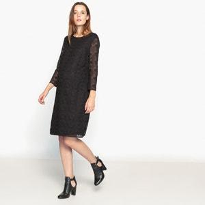 Vestido de embarazo de encaje La Redoute Collections