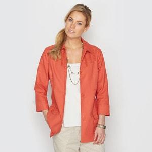 Linen Shirt-style Jacket ANNE WEYBURN