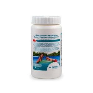 Chlore 5 fonctions en pastilles pour piscine de - 20 m³ 1 kg BAYROL