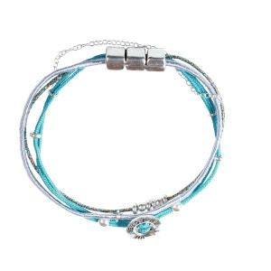 Bracelet Cloe message La vie en rose argent YUNA