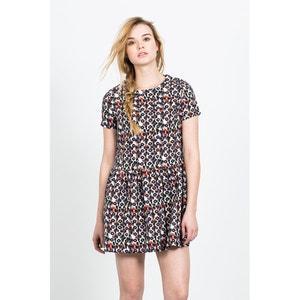 Azteca Short-Sleeved Flared Mini-Dress COMPANIA FANTASTICA