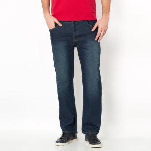 Rechte jeans in stretch denim, lengte 1 TAILLISSIME