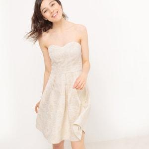 Jacquard Strapless Dress MADEMOISELLE R