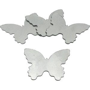 Stickers Miroirs Papillons 4 éléments 12x14cm ROOM MATES