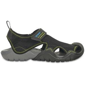 Sandálias com presilhas autoaderentes Swiftwater River CROCS
