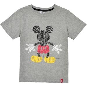 T-shirt con scollo rotondo tinta unita, maniche lunghe La Redoute Collections