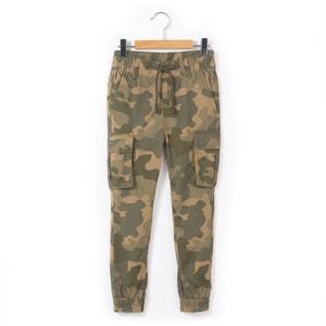 Battle broek met camouflage print 3-12 jaar abcd'R