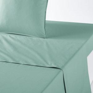 Drap plat en percale de coton biologique La Redoute Interieurs