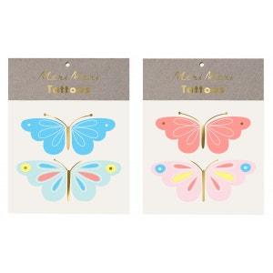 Tatouages éphémères Papillon MERI MERI