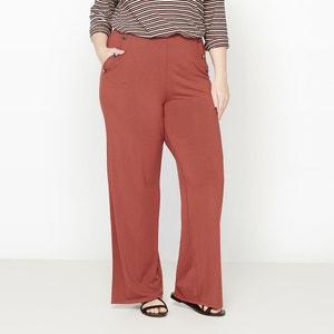 Pantaloni larghi effetto ponte CASTALUNA