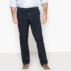 Calças chino regular, elástico dos lados CASTALUNA FOR MEN